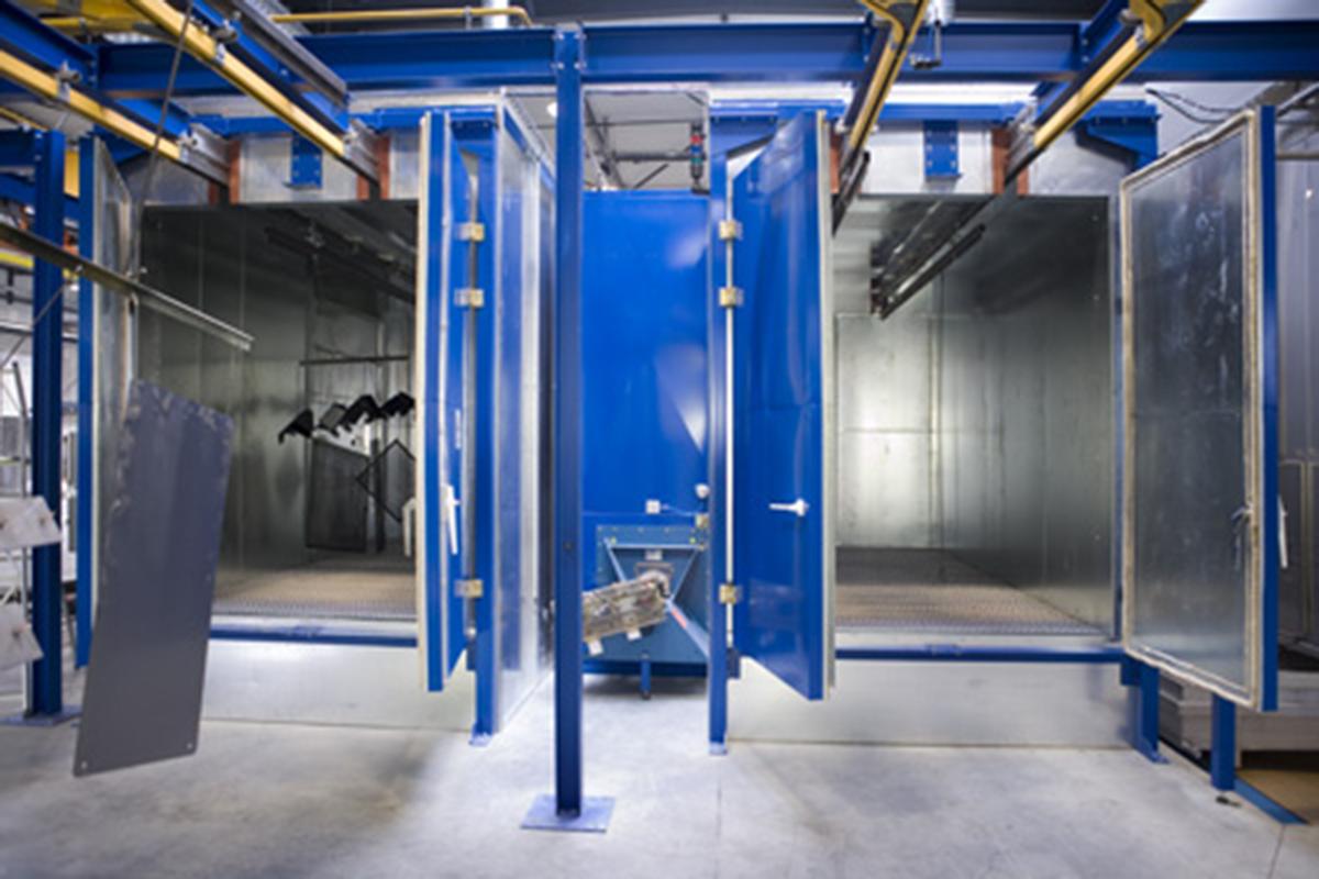 Sistema por aspersión desengrase fosfatado